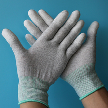 5pairs/bag Anti static Glove PC computer ESD Safe universal work Gloves Electronic Anti skid for Finger protection