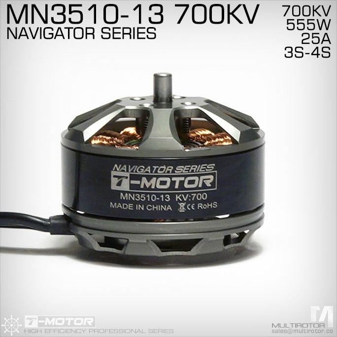 RC Model część T MOTOR MN3510 KV700 Outrunner silnik bezszczotkowy do multirotor copter w Części i akcesoria od Zabawki i hobby na  Grupa 2