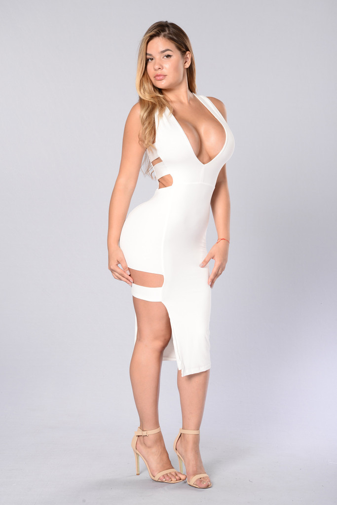 2017 Spring Sexy White Bodycon Kim Kardashian Big Ass Tank Dress For Sex Sleeveless Hollow Out Night Clubbing Sex Party Dress In Dresses From Womens