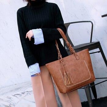 Causal Tassel Shoulder Bag 5