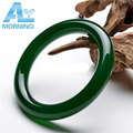 Morning Natural Green Agate Bracelet Quality Agate Bracelet Agate Jewelry Bangle for Women Lady