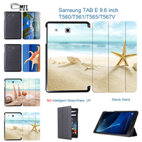 MTT New Products Beach Conch Cover Tablet Case For Samsung Galaxy Tab E 9 6 T560