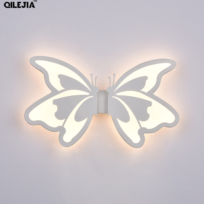 Aliexpress.com : Buy 24W butterfly wall lamps bedside ...