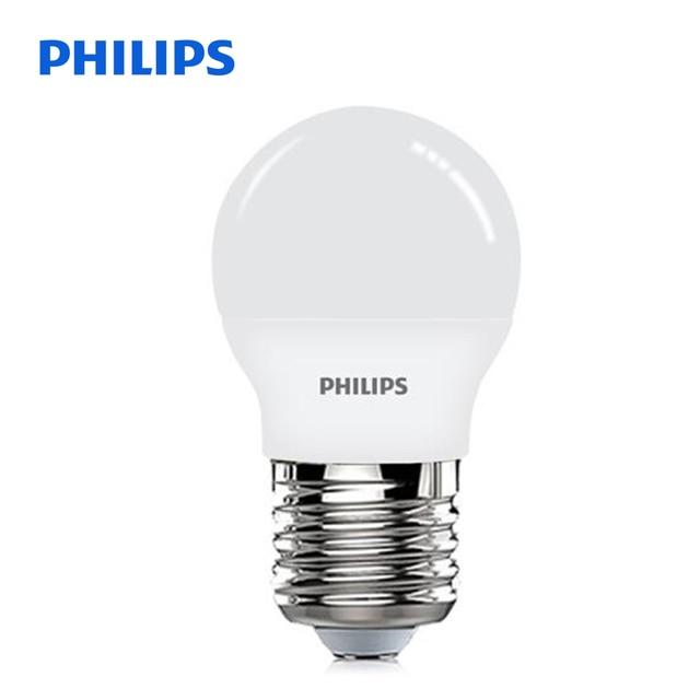 New Original PHILIPS LED Bulb 5W 220V E27 Screw 3000K/6500K High Quality  300LM /