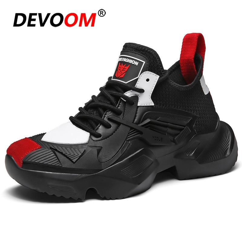 Kanye West chaussures hommes marque blanc baskets 2019 printemps homme chaussures décontractées nouvelle mode hommes chaussures décontractées offre spéciale plate-forme Snakers
