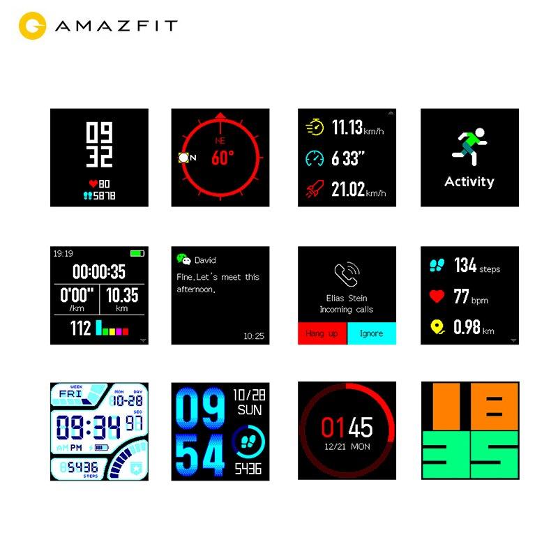 Huami Amazfit Bip iOS Android Téléphone Sport montre intelligente gps Bluetooth moniteur de fréquence cardiaque Longue Jours autonomie de la batterie IP68 Étanche - 4