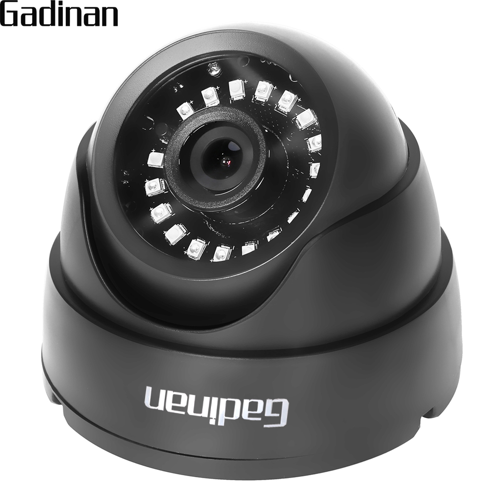 GADINAN AHD CCTV Camera CMOS IR Cut Filter Microcrystalline IR Leds 1MP/1.3MP 2MP AHD Camera 720P 1080P Dome Security Camera