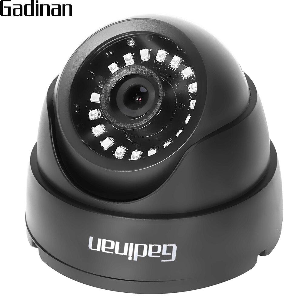 GADINAN AHD CCTV Camera CMOS IR Cut Filter Microcrystalline IR Leds 1MP/1.3MP 2MP AHD Camera 720P 1080P Dome Security Camera