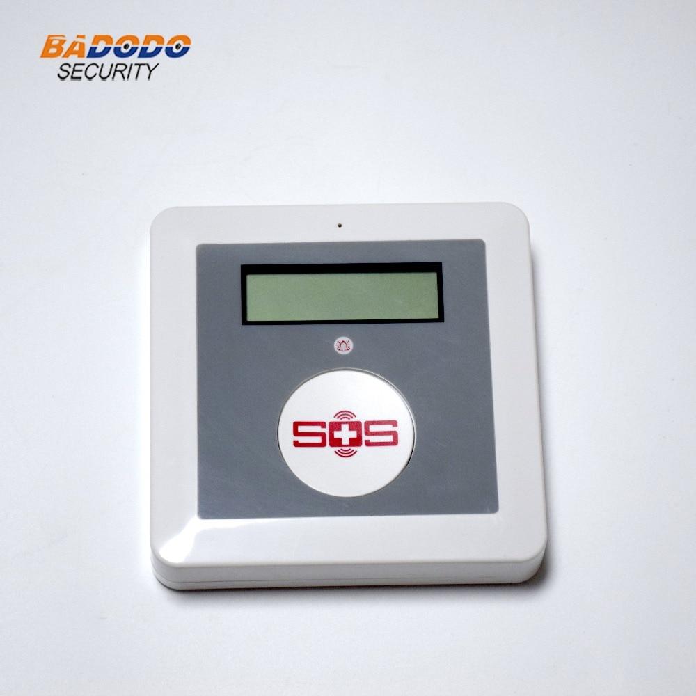 GSM ワイヤレスアプリ sms リモートコントロール高齢シニアケア警報システム K4 Pir モーションセンサー緊急 sos パニックボタン  グループ上の セキュリティ & プロテクション からの 緊急警報ボタン の中 3