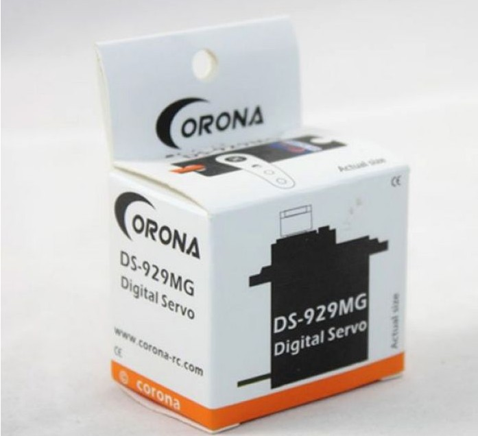 купить 1set Corona DS-929MG Digital servo metal gear for TREX 450 +register free shipping онлайн