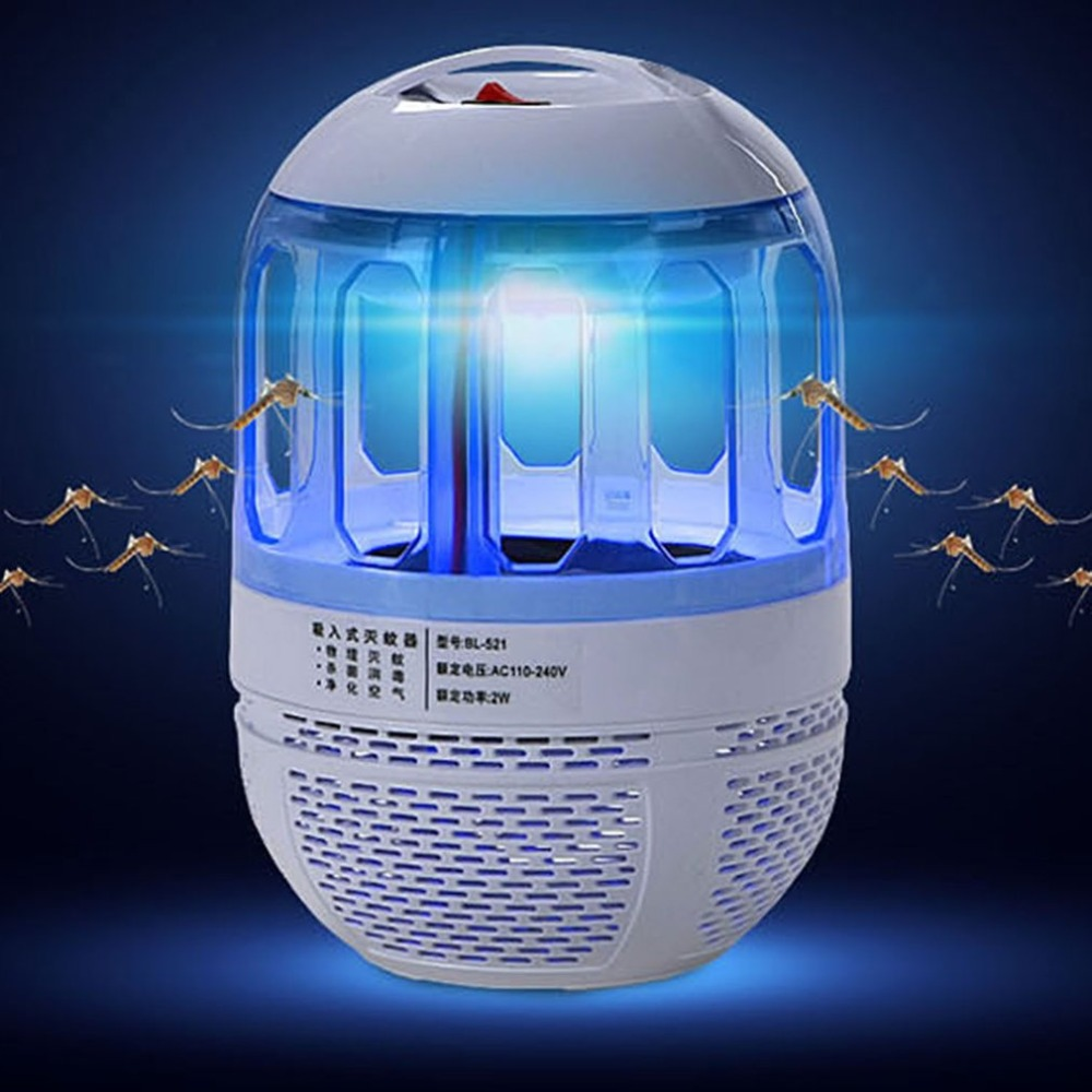 Elektronischen Hause Ultra Silent Inhalant moskito-killer lampe Led Insect Bug Zapper Fliege Schädlingsbekämpfung Licht Tötung Lampe