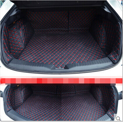 full surrounded Special car trunk mats for Mazda CX-4 Easy to clean waterproof boot carpets