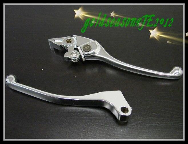 Freeshipping Chrome Brake Clutch Levers for Honda 87-06 CBR 600 F1/F2/F3/F4/F4i 05 04 03 02