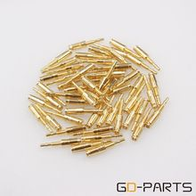GD PARTS 10 pçs banhado a ouro pinos de bronze tubo soquete pinos pés para kt88 el34 6550 gz34 274b nixie vfd áudio alta fidelidade do vintage diy