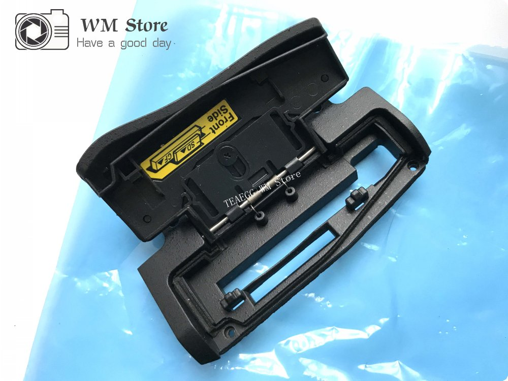 NEW For Nikon D810 Card Cover Rubber CF SD Memory Case Shell Lid Door Camera Repair