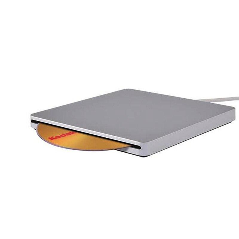 R7 lecteurs optiques étuis portables USB2.0 Gadgets DVD-rom CD SATA externe mince pour Macbook Air ordinateur Portable PC ne prend pas en charge la gravure de DVD