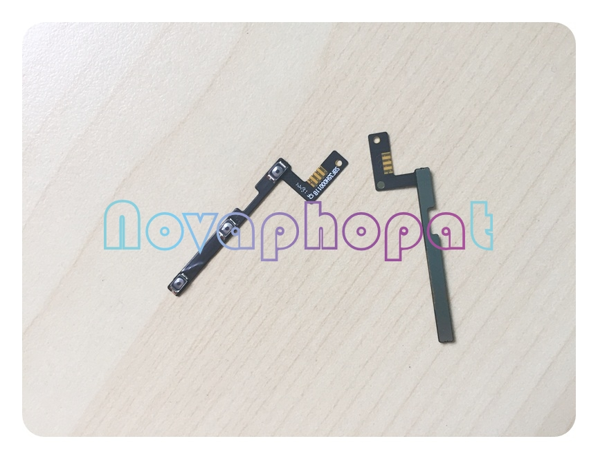 Novaphopat For Alcatel One Touch POP3 4G OT 5054 5054D 5054X 5054A 5054S OT5054 Power On Off Volume Up Down Switch Flex Cable