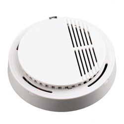 Stable photoelectric wireless smoke detector high sensitive fire alarm sensor monitor tester for home security system.jpg 250x250