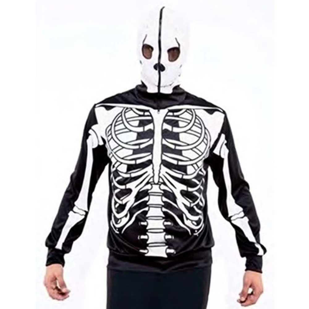 Skull 3D Printed Fall Hoodies Men Women Sweatshirts Hooded Pullover Brand 3xl Qaulity Tracksuits Boy Coats Fashion Outwear New cardigan