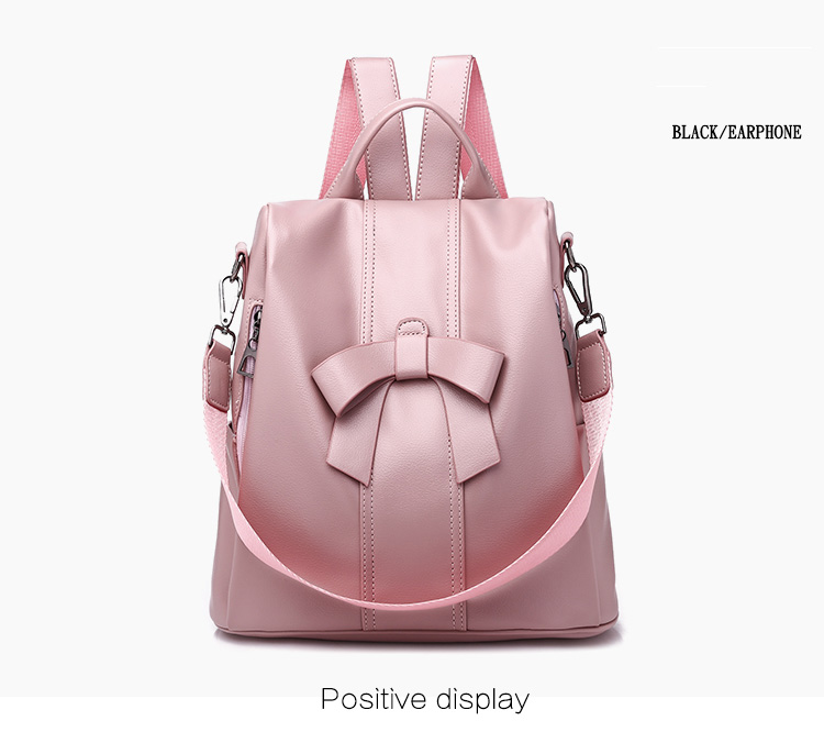 HTB1LXT9UOLaK1RjSZFxq6ymPFXaJ - Leisure Women Backpack High Quality Leather Lady Anti Theft Shoulder Bags Lovely Girls School Bags Women Traveling Backpack