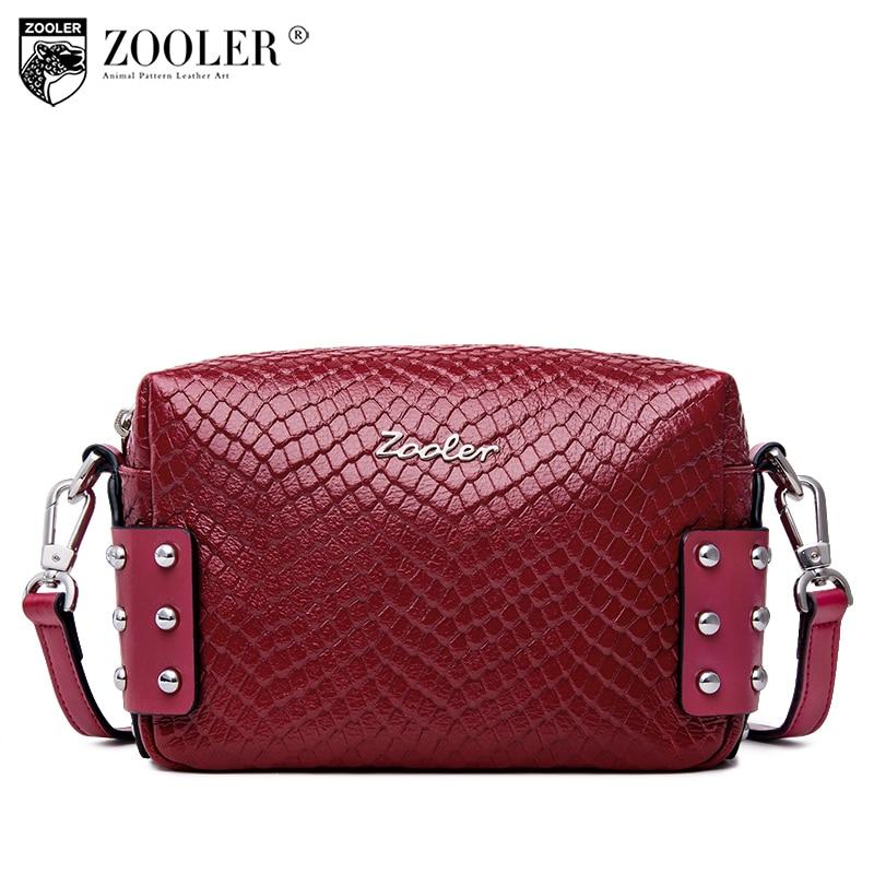 2019 Hot-Zooler naine kott tõeline nahast kotid kuum disainer rist - Käekotid - Foto 2