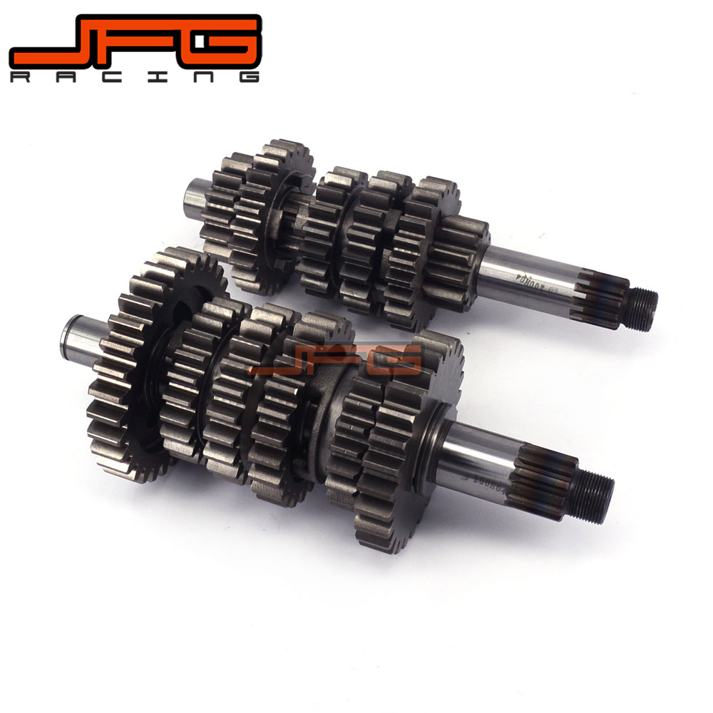 Motorcycle Six Speed Counter Shaft Countershaft Main Gear For NC250 250CC KAYO Xmotos T6 K6 J5 XZ250R RX3 ZS250GY-3 Dirt Bike oil filter clearance for zs177mm zongshen engine nc250 kayo t6 k6 bse j5 rx3 zs250gy 3 4 valves parts motocross page 5