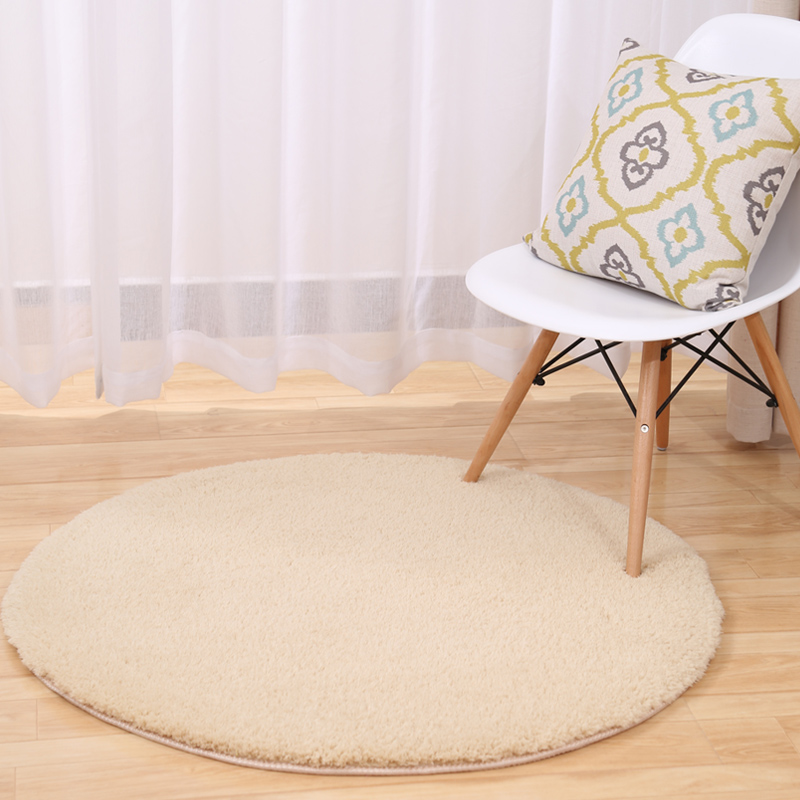 160CM Round Velvet Carpets For Living Room Home Bedroom Rugs And Carpets Computer Chair Area Rug Cloakroom Floor Mat
