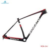 Full T800 Carbon Fiber Finish Glossy Matte Mountain Bike Carbon Mtb Frame 29er BSA PF30BB30