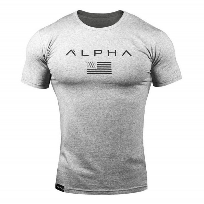 Brand clothing fitness t shirt men fashion extend long tshirt summer gyms short sleeve t-shirt cotton bodybuilding tops