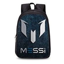 56b15c21c362 Новый #10 Логотип Месси, Барселона рюкзак сумка мужская дорожная сумка  подарок детские рюкзаки Mochila рюкзаки подростковые школ.