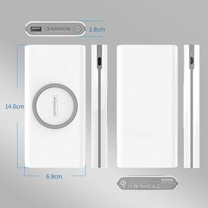 Image 5 - Power Bank 10000Mah Nillkin 2 Trong 1 Tề Sạc Không Dây Đa Năng Di Động Công Suất Ngân Hàng Poco X3 Dành Cho iPhone 12/X/8 Note 20 Cực