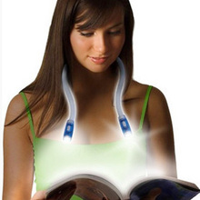 60CM Flexible Novelty light LED Reading Book Night lamp Adjustable 4 Modes AAA battery powered Camping Fishing Hiking Lighting