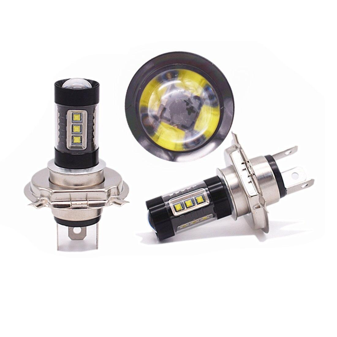 Dongzhen Car H4 LED 9003 HB2 Fog Light Bulb High Low Beam Headlight Automobile Head Lamp
