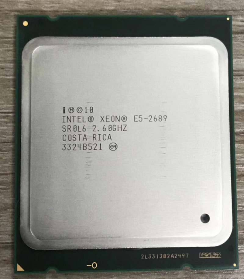 Intel Xeon E5 2689 LGA 2011 2.6GHz 8 Core 16 Threads CPU Processor E5-2689(China)