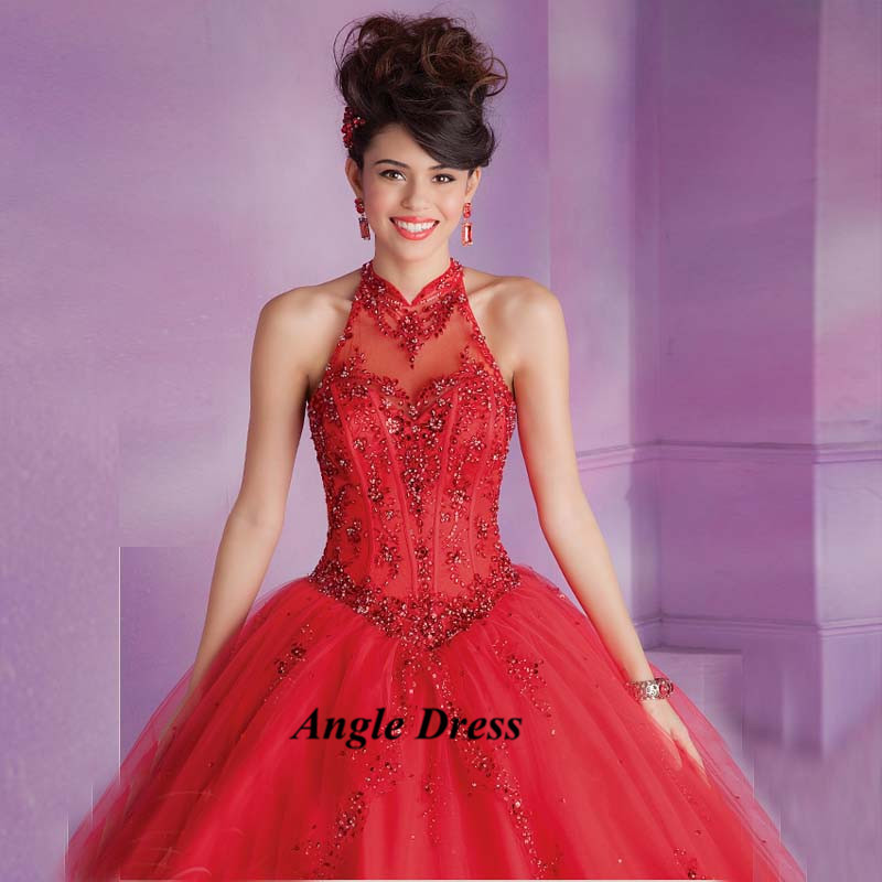 Royal Blue Red Masquerade Ball Gowns Cheap Quinceanera Gowns Sweet ...