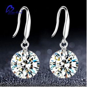 2016 New Women Silver plated stud s