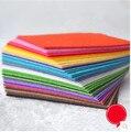 40 colores 30*20 cm Tela no tejida de poliéster acrílico, costura, bricolaje, aguja de coser, agujas, hecho a mano, fieltro no tejido, tela, Fieltro fieltro