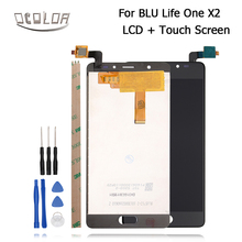 ocolor For BLU Life One X2 LCD Display And Touch Screen Panel Digitizer Assembly Replacement For BLU Life One X2 +Tools+Adhesive
