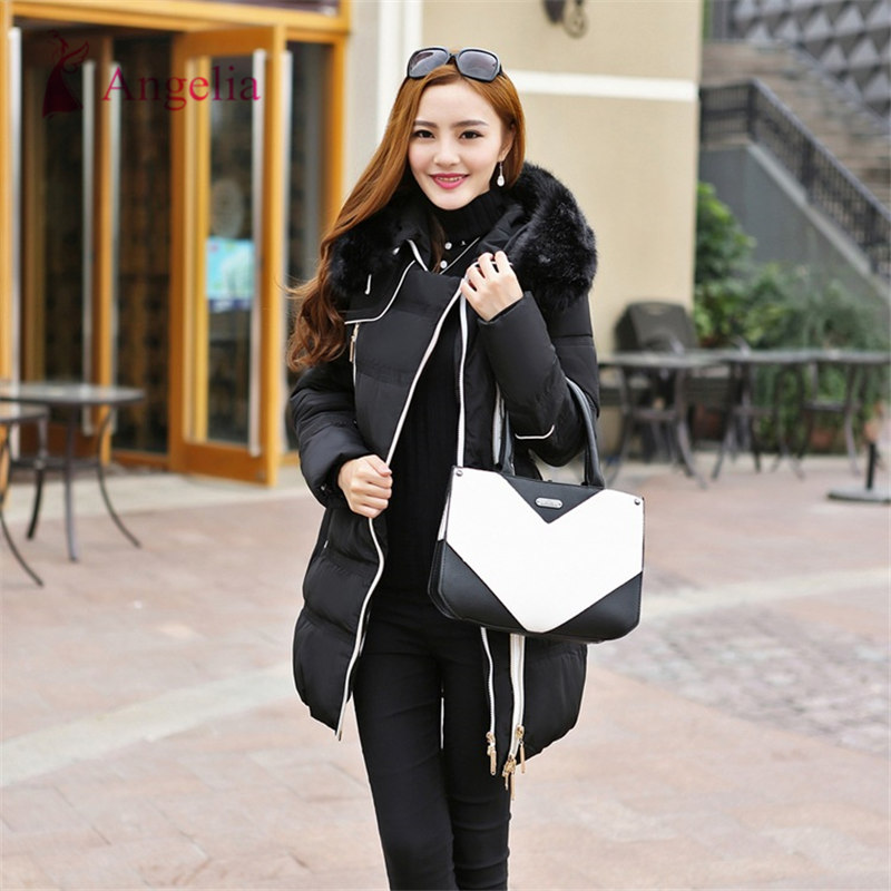 Luxury Duck Down China Winter Jacket Women Warm Long Padded Coat ...