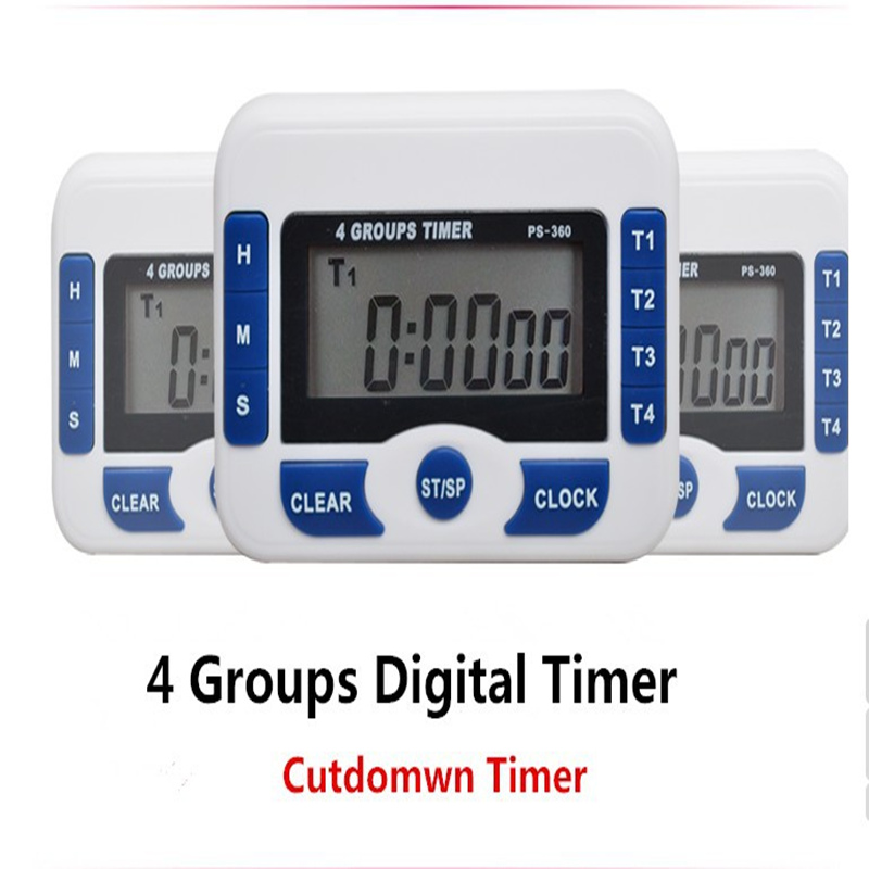 Buy ps360 4 groups timer countdown for Kitchen set 2 meter