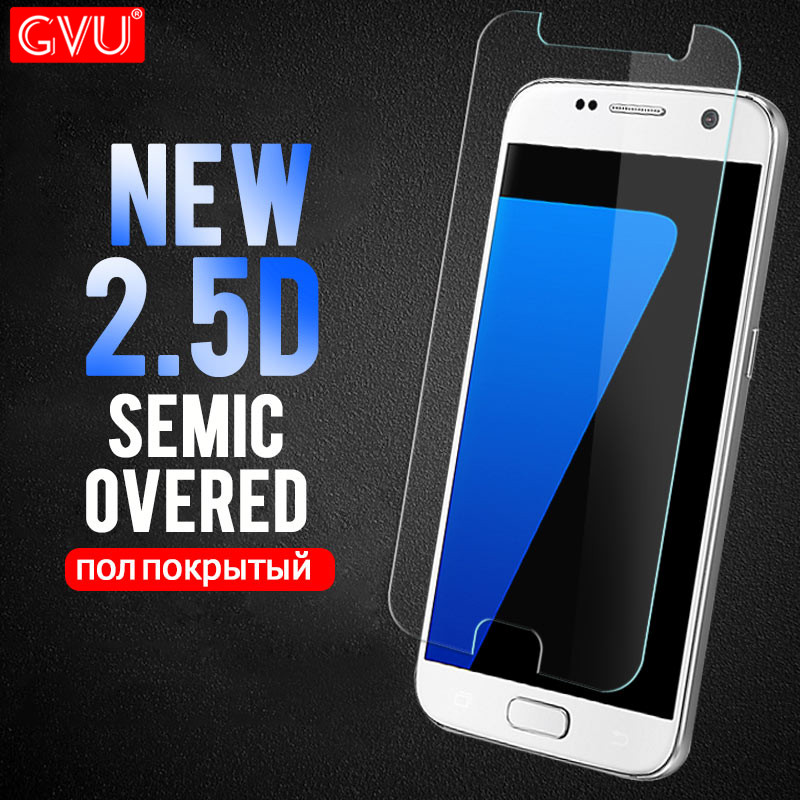 GVU 2.5D Protective glass For Samsung Galaxy S6 S7 Tempered Glass Film For Samsung Galaxy S3 S4 S5 Mini S2 screen protectorGVU 2.5D Protective glass For Samsung Galaxy S6 S7 Tempered Glass Film For Samsung Galaxy S3 S4 S5 Mini S2 screen protector