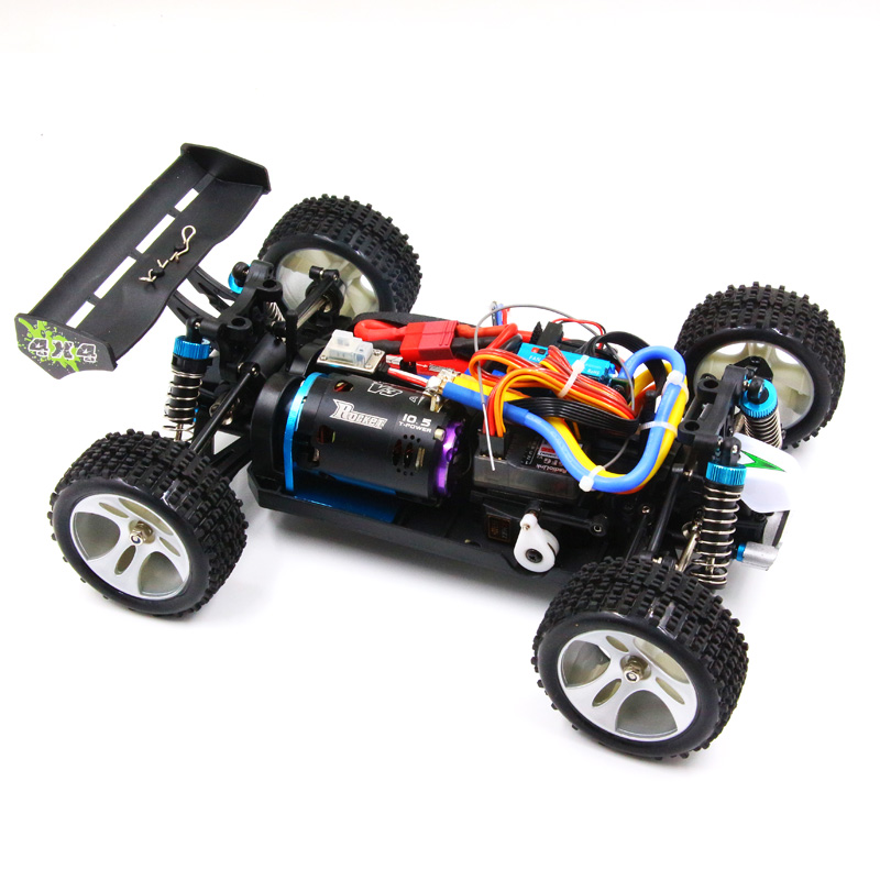 RC WLtoys 1/18 A959-B A969-B A979-B K929-B RTR brushless power SD system upgrade 540 sensored motor 120A ESC emax ES3004 servo new arrivel wltoys upgrade metal planetary gear 1 18 a949 a959 a969 a979 a959 b a969 b a979 b rc car part