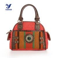YUBIRD Brand Fashion Top Handle Bags Women Canvas Handbags Ladies Hand Bags Casual Daily Weekend Shell