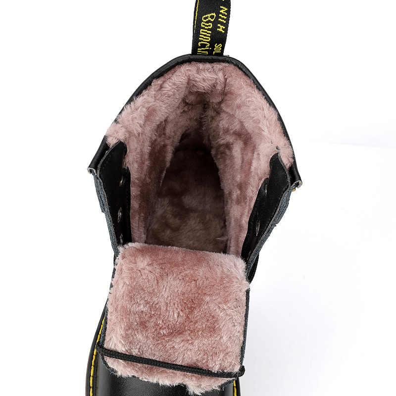 Vancat бренд яловой спилок осень зима теплый мех Винтаж мотоботы мужской обувь для верховой езды мужские зимние ботильоны с высоким берцем мужские ботинки
