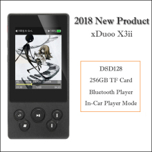 xDuoo X3II X3 ii Mp3 Player Bluetooth Hifi Player Mp3 Portable HD Lossless Music Player USB Dac ak4490 FLAC WAC Player цены онлайн