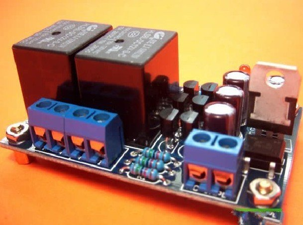 Freeshipping Double track amplifiers horn protection plate suite (parts) double relay vu table driven plate replacement level bile machine chassis before ta7318p amplifiers