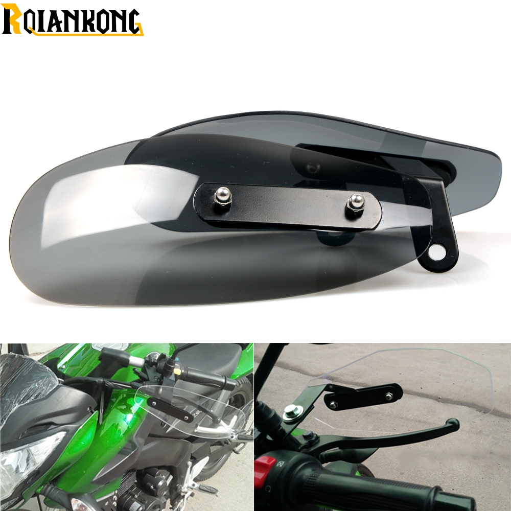 Motorcycle Accessories wind shield handle Brake lever hand guard for Honda VFR NC 700 750 800 1200 F VFR750 VFR800 VFR1200 areyourshop motorcycle brake long clutch levers for honda vf750s sabre vfr750 vfr800 f vtr1000f cbf1000 motorbike brakes