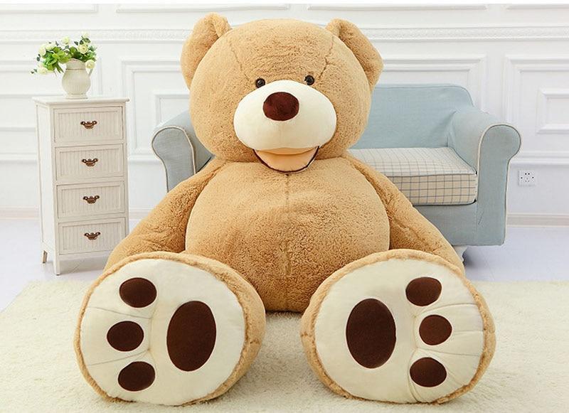 160 CM peluche géante ours en peluche peluche grand grand énorme brun peluche peluche peluche enfants enfants poupée fille cadeau de noël LLF - 3