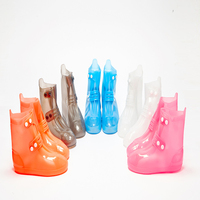 One piece double breasted Rain Covers rain boots shoes slip wear resistant waterproof and silicone rain boots sale 3