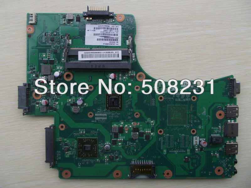 Wholesale for Toshiba Satellite C655 C655D laptop motherboard V000225210 ,100% Tested and guaranteed in good working condition!!  wholesale v000225020 laptop motherboard for toshiba c650 c655 100